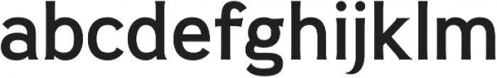 Pseudonym Medium otf (500) Font LOWERCASE