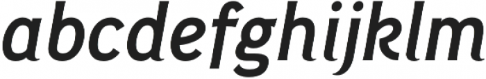 Pseudonym Narrow Medium Italic otf (500) Font LOWERCASE