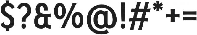 Pseudonym Narrow Medium otf (500) Font OTHER CHARS