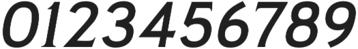Pseudonym Wide Medium Italic otf (500) Font OTHER CHARS
