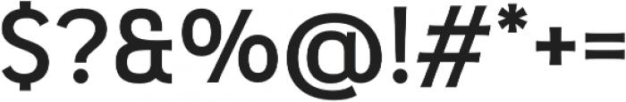 Pseudonym Wide Medium otf (500) Font OTHER CHARS