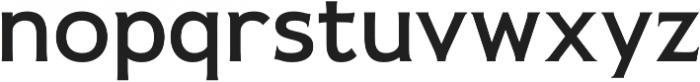 Pseudonym Wide Medium otf (500) Font LOWERCASE