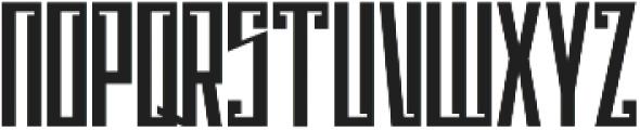 Psychotic Robots ttf (400) Font UPPERCASE