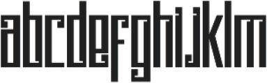 Psychotic Robots ttf (400) Font LOWERCASE