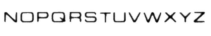 PSEUDO Font UPPERCASE