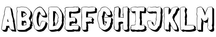 PSYCHO Font LOWERCASE