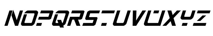 PsYonic VII Bold Italic Font UPPERCASE