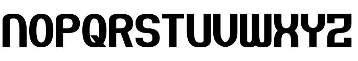 Pseudonumb Font UPPERCASE
