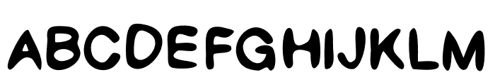 Psilly Font UPPERCASE