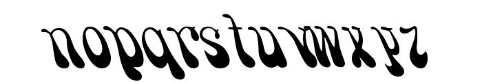 Psychadelic Regular Font LOWERCASE