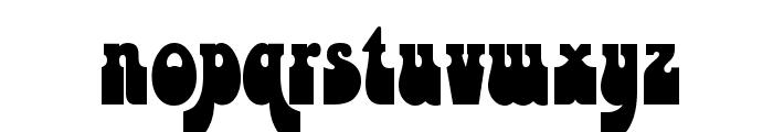 Psychedelia HM Font LOWERCASE