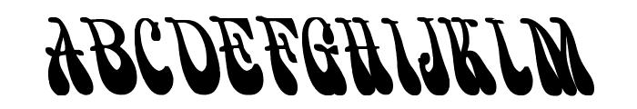 PsychedelicSmoke Cn Bold Font UPPERCASE