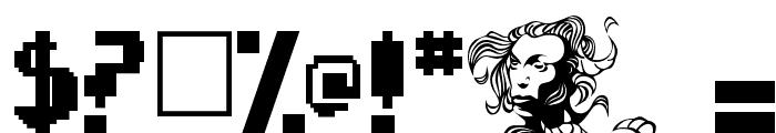 Psychopod Font OTHER CHARS
