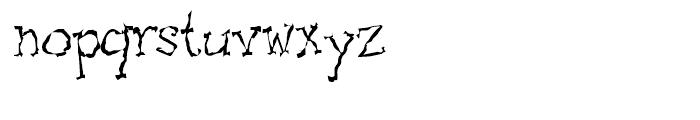 Pscruf Regular Font LOWERCASE