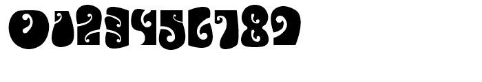 Psychedelic Avalon Font OTHER CHARS