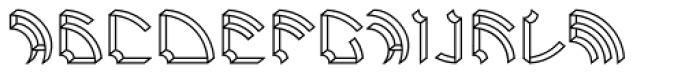 Ps Rooster 1 Regular Font UPPERCASE