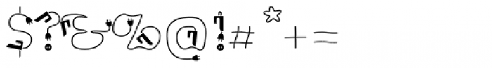 Ps Strijkijzer Font OTHER CHARS