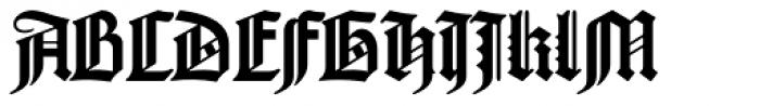 Psalterium Font UPPERCASE