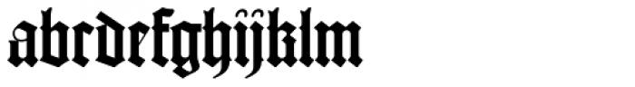 Psalterium Font LOWERCASE