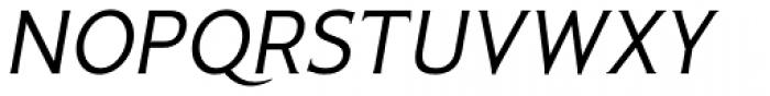 Pseudonym Italic Font UPPERCASE