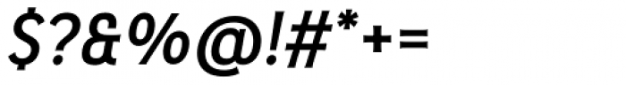 Pseudonym Medium Italic Font OTHER CHARS
