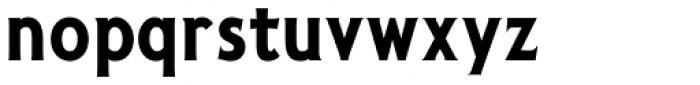 Pseudonym Narrow Bold Font LOWERCASE