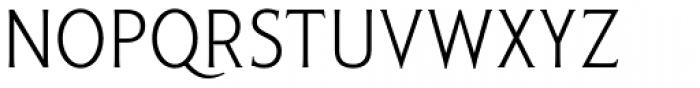Pseudonym Narrow Light Font UPPERCASE