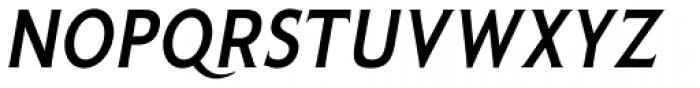 Pseudonym Narrow Medium Italic Font UPPERCASE