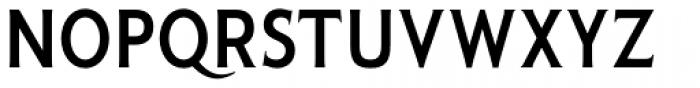 Pseudonym Narrow Medium Font UPPERCASE