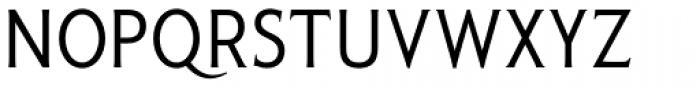 Pseudonym Narrow Regular Font UPPERCASE