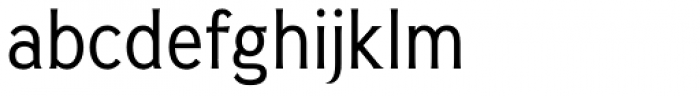 Pseudonym Narrow Regular Font LOWERCASE