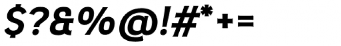 Pseudonym Wide Bold Italic Font OTHER CHARS