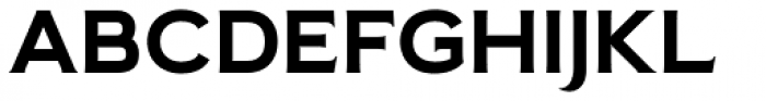 Pseudonym Wide Bold Font UPPERCASE