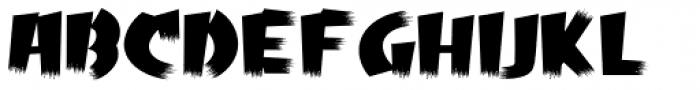 Psychobilly Regular Font LOWERCASE