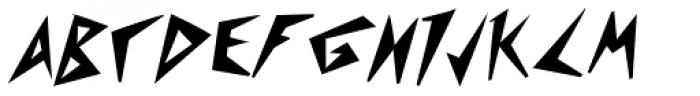 Psychomonster Bold Italic Font UPPERCASE
