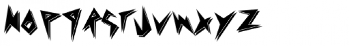 Psychomonster Shadow Font LOWERCASE
