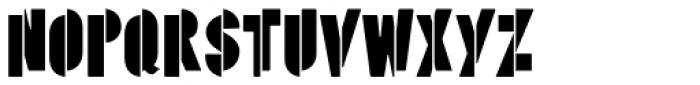 Psychoscout Font LOWERCASE