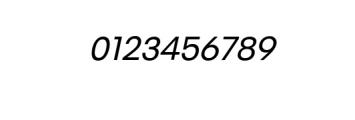 PT Areka Nova Italic.otf Font OTHER CHARS