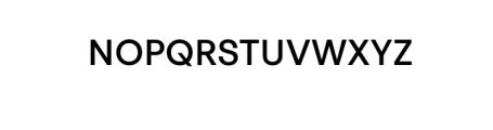 PT Areka Nova Medium.otf Font UPPERCASE