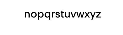 PT Areka Nova Medium.otf Font LOWERCASE
