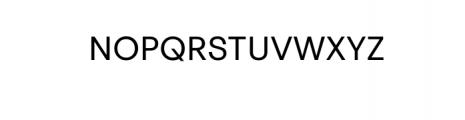 PT Areka Nova Regular.otf Font UPPERCASE