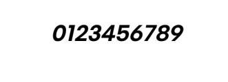 PT Areka Nova Semibold Italic.otf Font OTHER CHARS