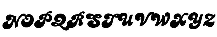 PT Banana Split Font UPPERCASE