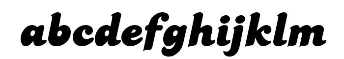 PT Banana Split Font LOWERCASE
