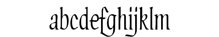 PT Lullaby Font LOWERCASE