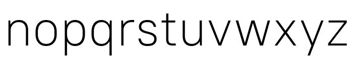 PT Root UI Light Font LOWERCASE
