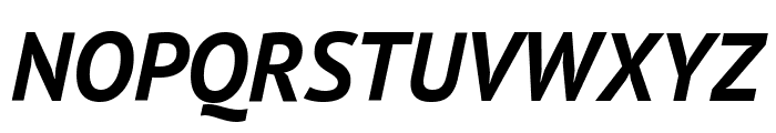 PT Sans Bold Italic Font UPPERCASE