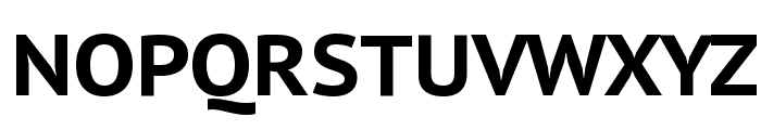 PT Sans Caption Bold Font UPPERCASE