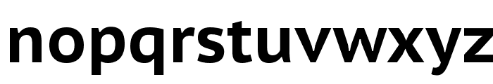 PT Sans Caption Bold Font LOWERCASE
