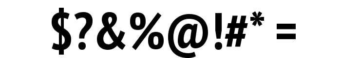 PT Sans Narrow Bold Font OTHER CHARS